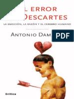 Damasio El Error de Descartes