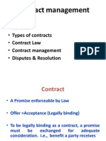 Contract Management & Contract Law 1