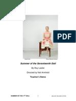 Summer of the Seventeenth Doll TEACHERS KIT