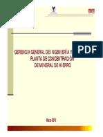 Fernando Barrios CIGC Planta Concentracion