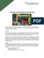 GVI Fiji Achievement Report September 2014.Dawasamu- Learning Through Play