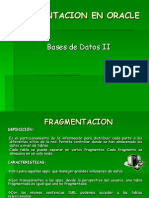Fragmentacion en Oracle