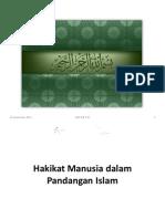 2 Hakikat Manusia Dalam Pandangan Islam
