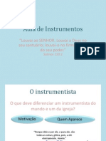 Aula de Instrumentos