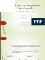 Dasar Transistor