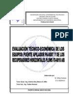 Evaluacion Tecnico Economica Equipos Cvg Fmo