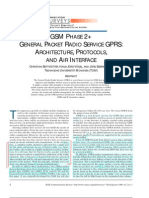 IEEE - GSM-GPRS Architecture Protocols