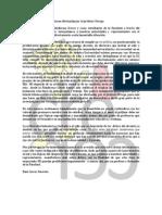 En Respuesta a Declaraciones Del Profesor Orrego