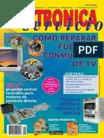 Como reparar fuentes conmutadas de tv