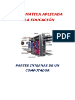 Partes internas de un computador