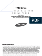 Samsung Highlight t749 for T-Mobile