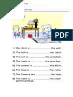 Alkt Worksheet Prepositions
