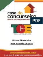 Apostila TCE Direito Financeiro Roberto Chapiro