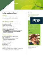 Recycle at Work - Info Sheet Retail.pdf