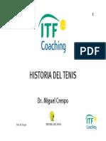 """Tema 1. Historia Del Tenis"""