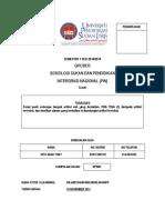QKU 3033 Sosiologi Sukan Dan p.i.n.-tugasan 2