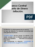 Banco Central,Oferta,Inflacion.
