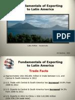 Export to Latin America