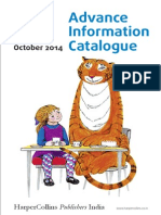 October Advance Information Catalog from HarperCollins India