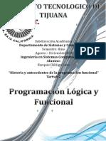 Historia y antecedentes de la Programacion Funcional Logica