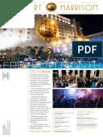 Fort Harrison Hotel Newsletter October 2014