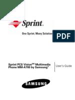 Samsung a700 for Sprint