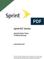 Samsung a820 for Sprint