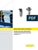 manual de transmisor de presion