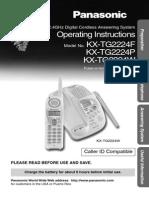 KXTG2224F-panasonic.PDF