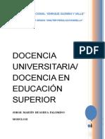 Modulo II (Docencia en Educación Superior)
