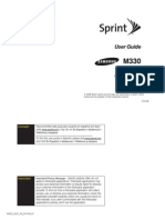 Samsung M330 for Sprint