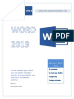 Tutorial Microsoft Word 2013