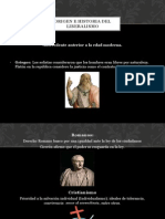 Origen e Historia Del Liberalismo