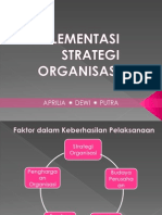 Ppt Menstra Implementasi Strategi Organisasi