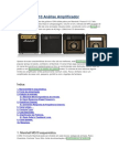 Marshall MG10 Análise Amplificador