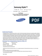 Samsung Glyde u940 for Verizon Wireless