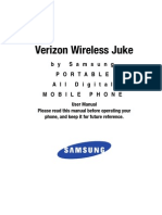 Samsung Juke u470 for Verizon Wireless