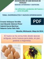 Ovoproductos y Huevos Diferenciados
