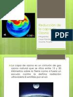 Reducción de La Capa de Ozono