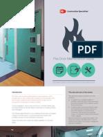Passive protection - Fire Door