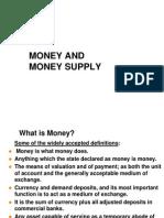 Money & Money Supply