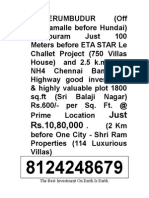 Valarpuram Land for Sale