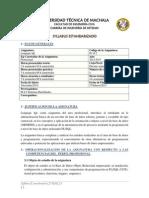 SYLLABUS ESTANDARIZADO 4GL