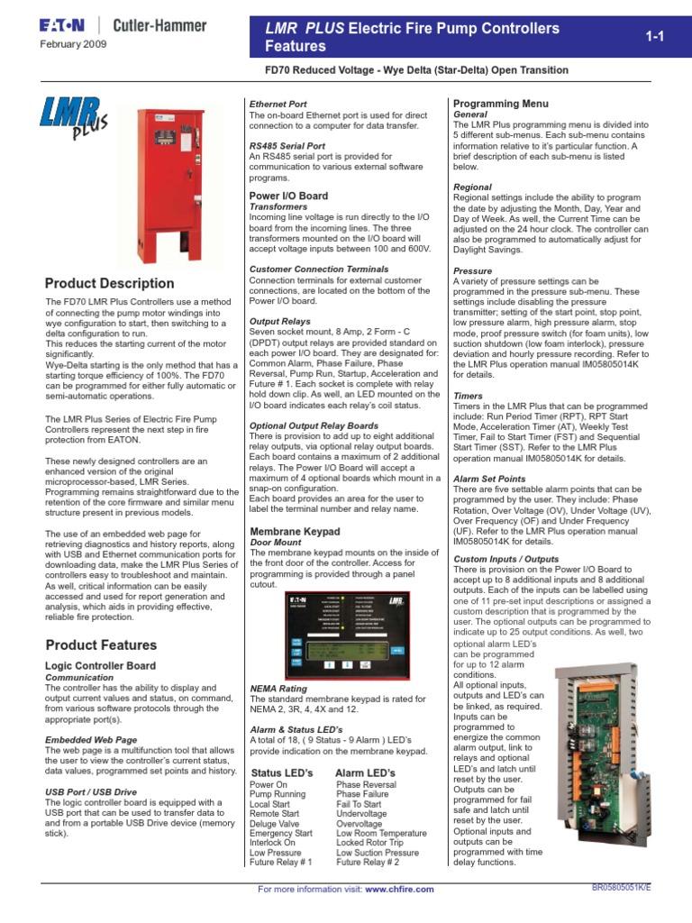 9 Catalog Cutler Hammer Fd70 Electric Fp Controllerpdf Relay Usb Eaton Current