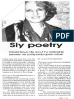 'Sly Poetry'