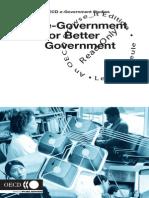 e Government for Better Gov