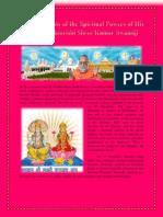 Scientific Tests of the Spiritual Powers of His Holiness Brahmrishi Shree Kumar Swamiji