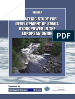 Strategic Study for Development of SHP in EU_2008