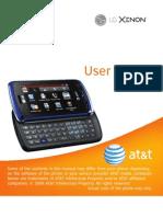 LG Xenon for AT&T