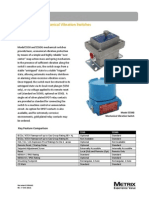 5550/5550G Mechanical Vibration Switches Datasheet